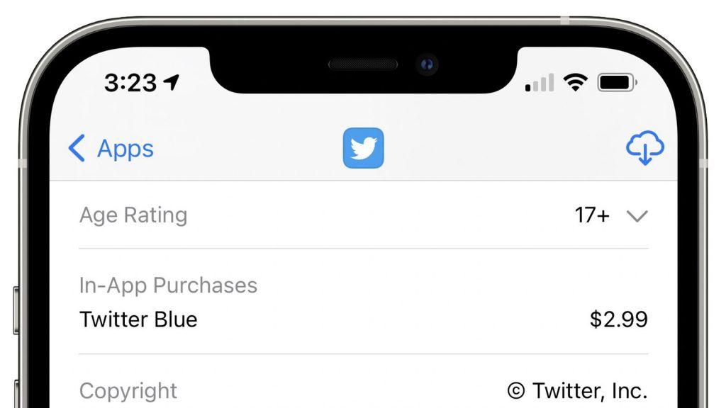 """Twitter confirma sus planes de servicio de suscripción mensual """"Twitter Blue"""" de $ 2.99"""