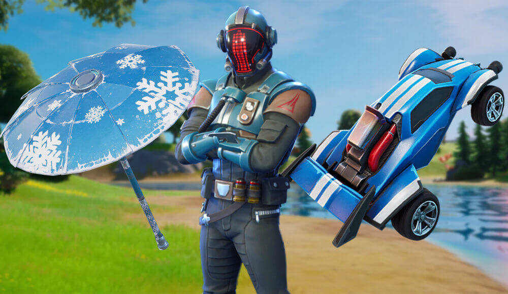 Fortnite exclsuive cosmetic items