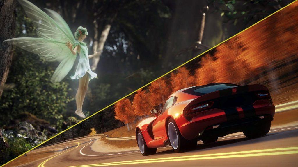 Eh, la nueva historia se está ejecutando en el motor de Forza.