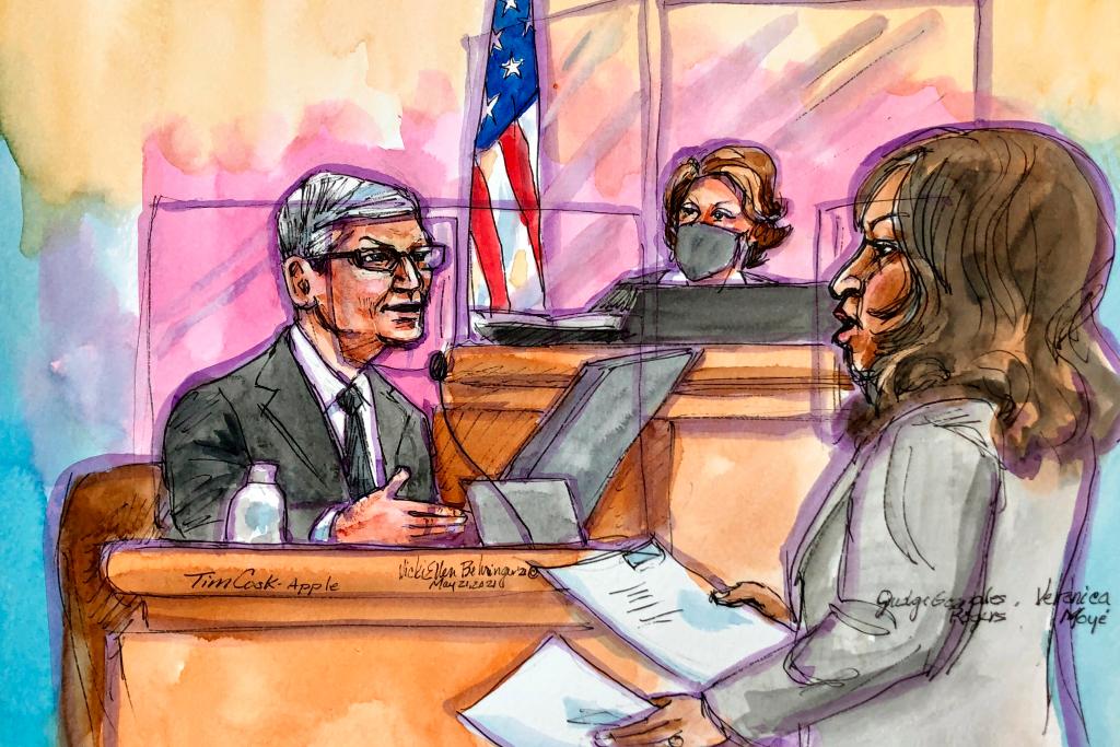 El abogado de Epic Games interrogó al CEO de Apple, Tim Cook, en la App Store en el juicio - fecha límite