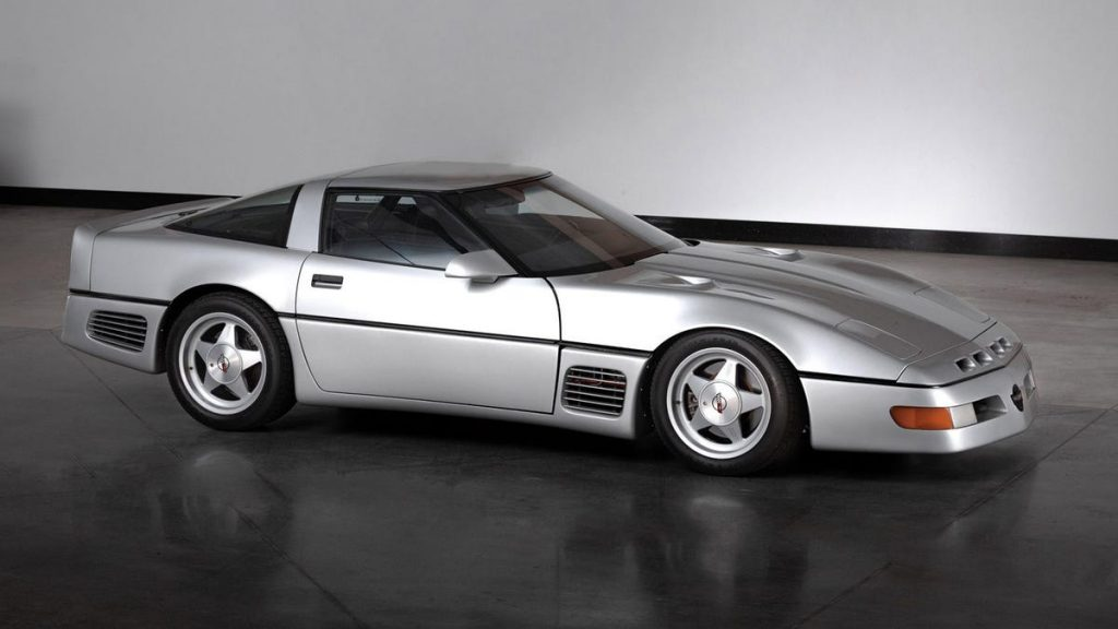 El ícono único de Corvette a 254 mph ahora está a subasta