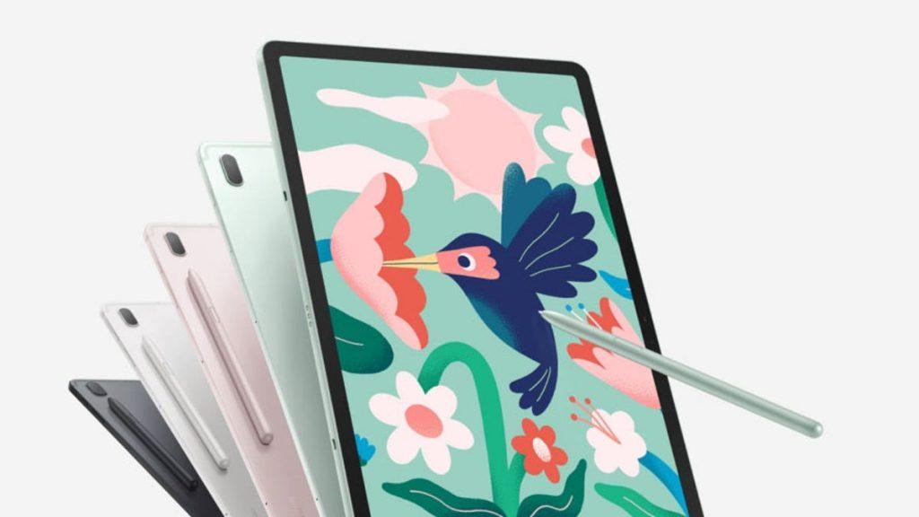 Galaxy Tab S7 FE y Tab A7 Lite
