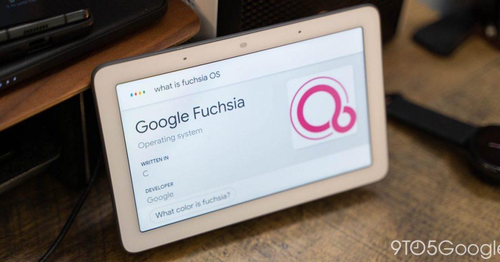 Google está lanzando Fuchsia OS, comenzando con el Nest Hub de primera generación