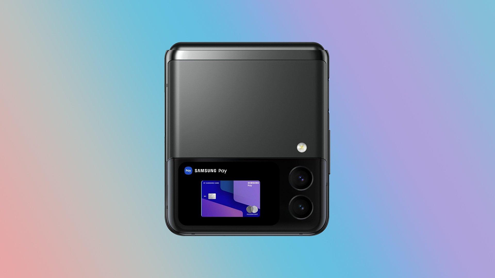 Renderizado del concepto Samsung Galaxy Z Flip 3
