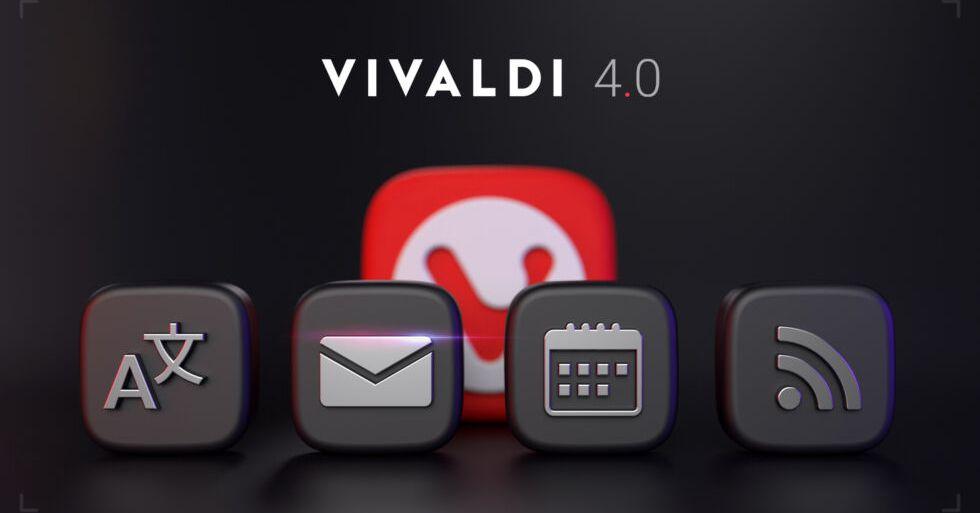 Vivaldi Browser ahora tiene un lector incorporado de correo, calendario y RSS