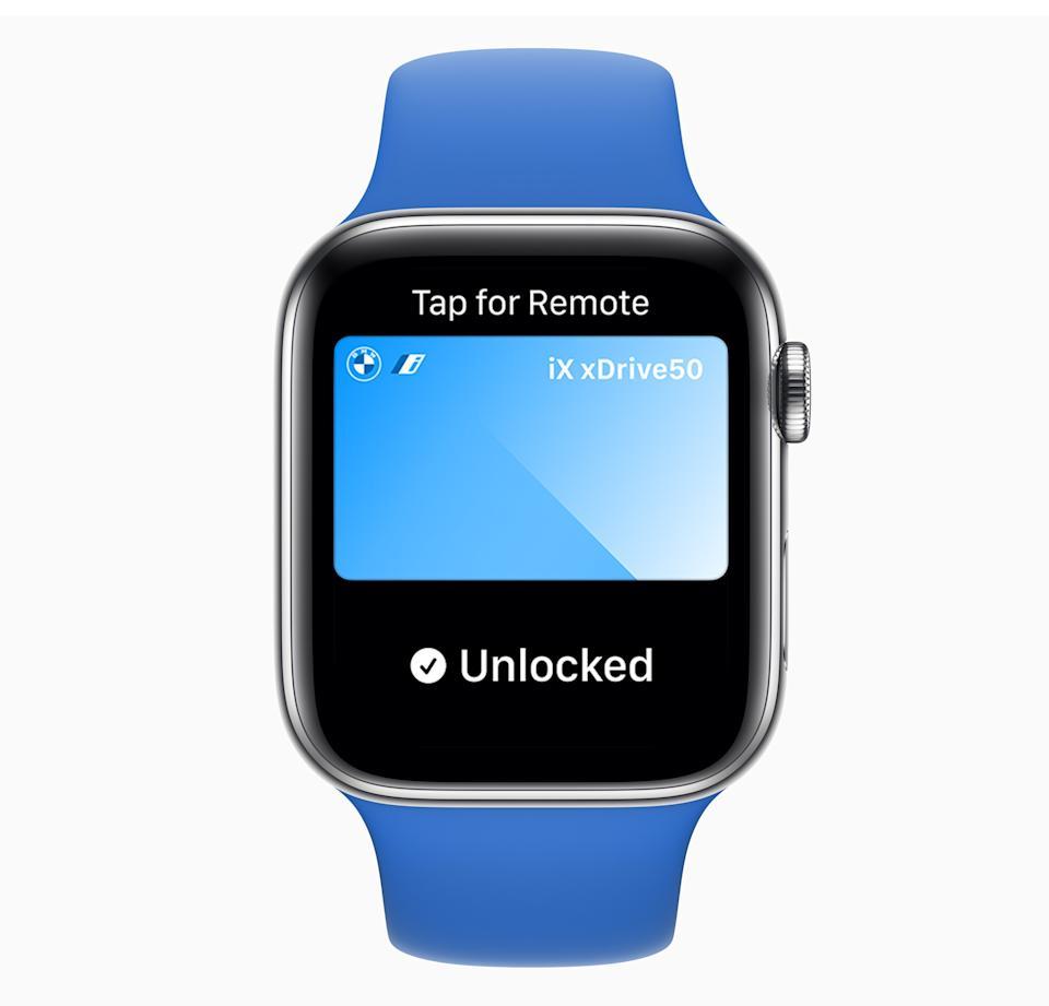 Su Apple Watch pronto podrá desbloquear y arrancar su automóvil.  Sin embargo, su automóvil también necesitará soporte técnico.  (Foto: Apple)