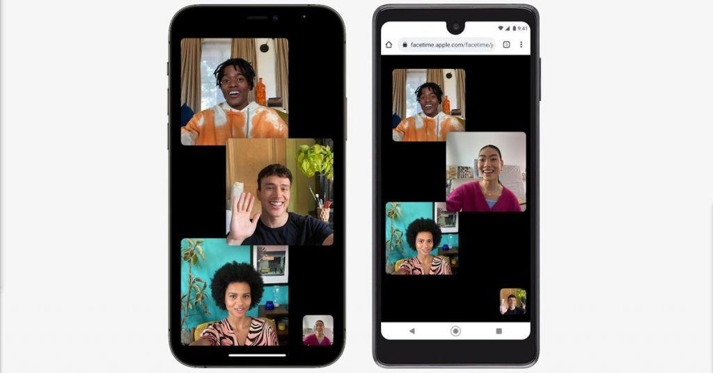 FaceTime está disponible en Android y Windows a través de la web