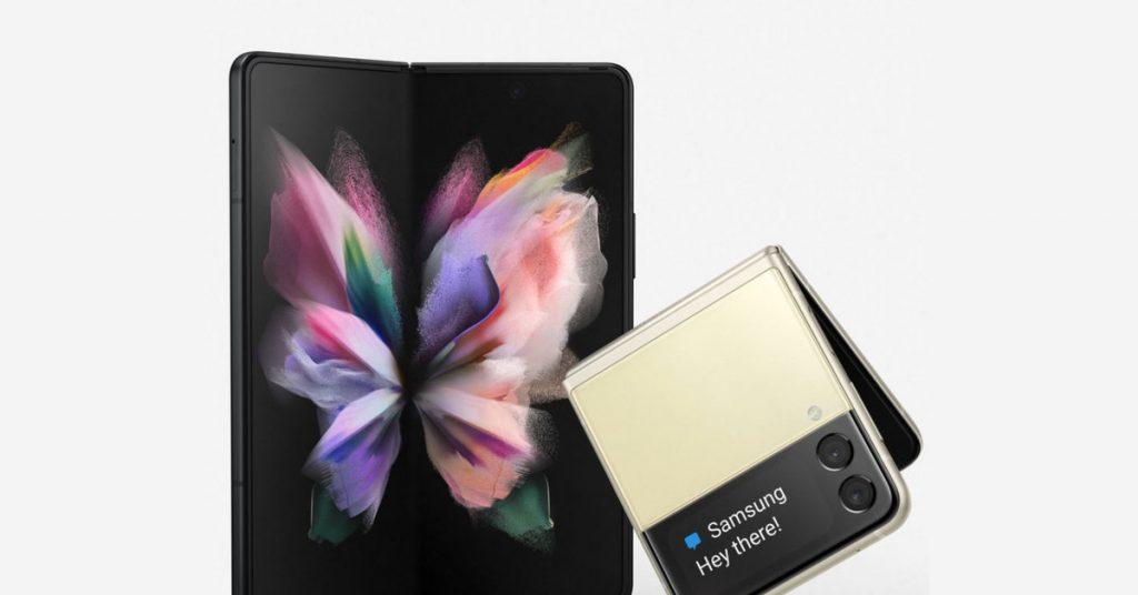 Samsung Galaxy Z Fold 3 y Z Flip 3 revelados en una nueva filtración