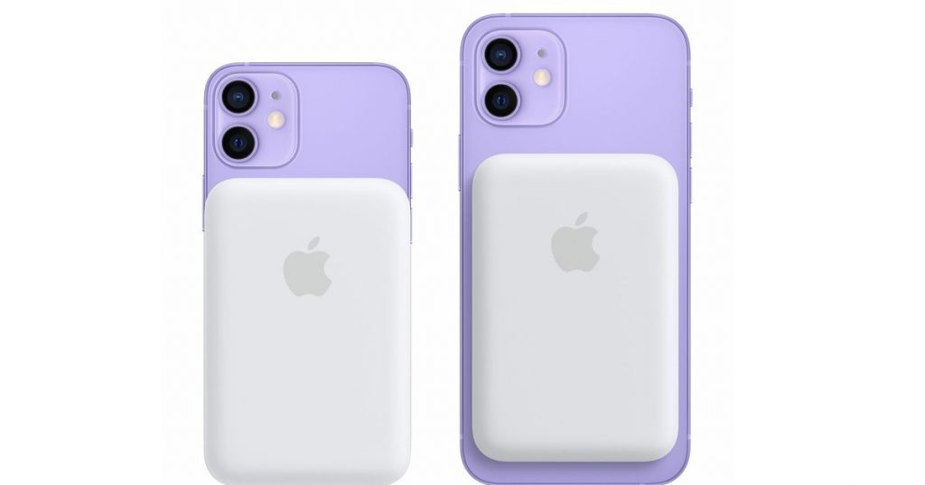 La nueva batería MagSafe de Apple introduce la carga inversa por primera vez en el iPhone 12