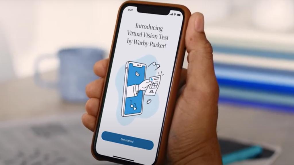 La nueva aplicación Warby Parker le permite omitir las pruebas de visión personales