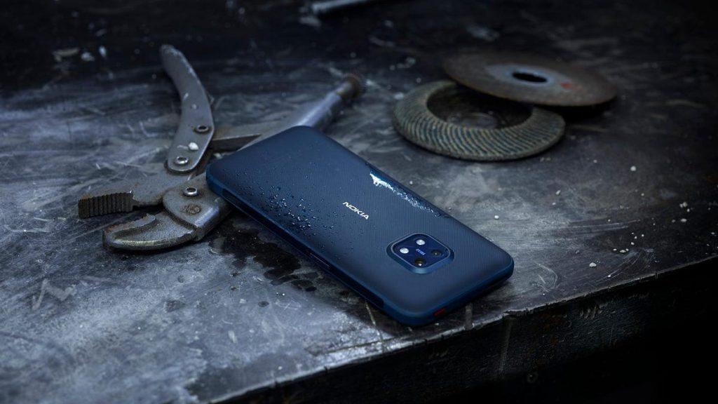 Nokia afirma que su nuevo teléfono inteligente XR20 es 'resistente a la vida'