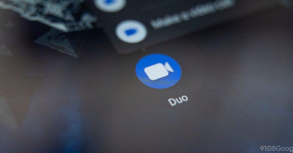 Pantalla de inicio de Google Duo rediseñada con el botón Nueva llamada