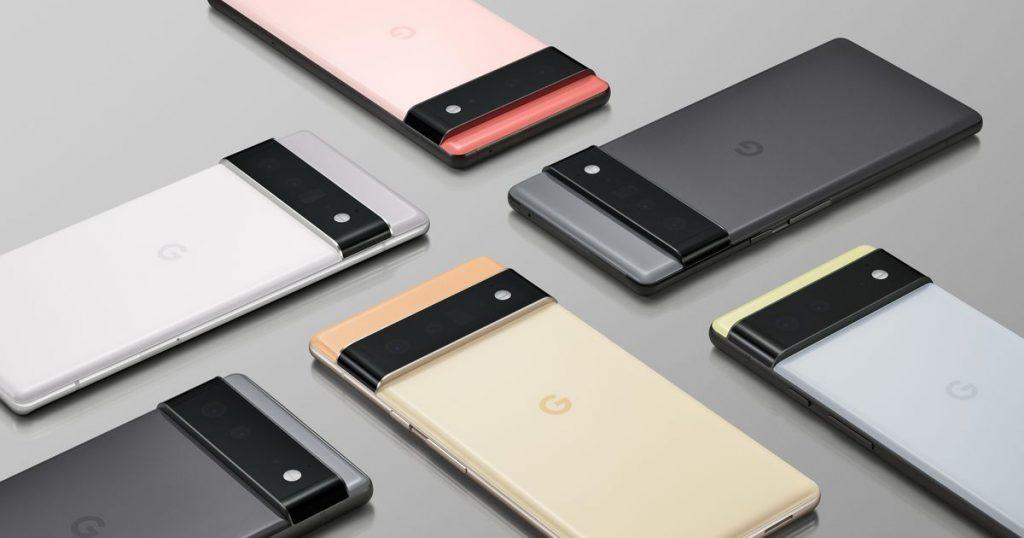 Los teléfonos Pixel 6 de Google vienen con un chip diseñado internamente por el competidor de Apple