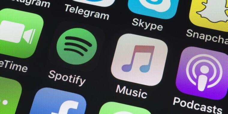 Spotify recuerda los planes de soporte de AirPlay 2, frustrando a los usuarios de iPhone