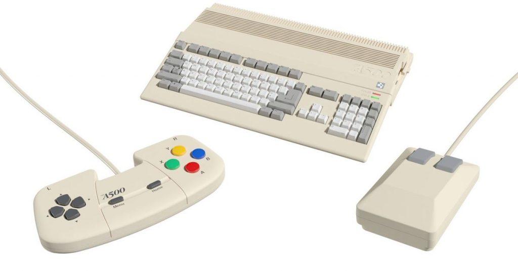 Amiga es el último sistema de juego para un mini remake