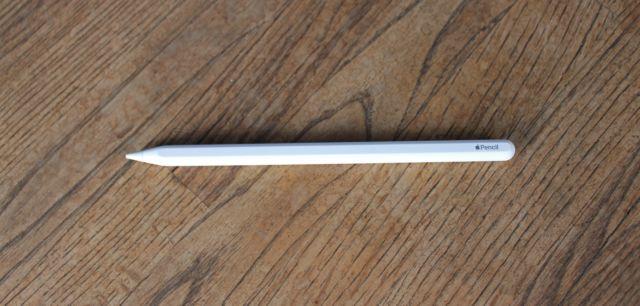 La segunda generación de Apple Pencil.