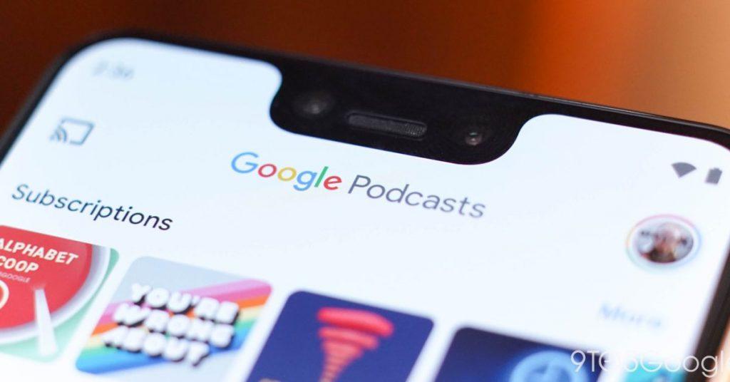 El rediseño de Google Podcasts agrega vista de cuadrícula, implementado ahora