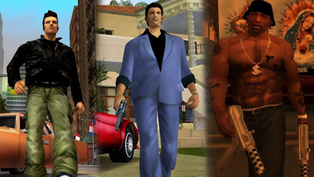 GTA 3, Vice City y San Andreas Remastered para Switch, PS5 y Xbox