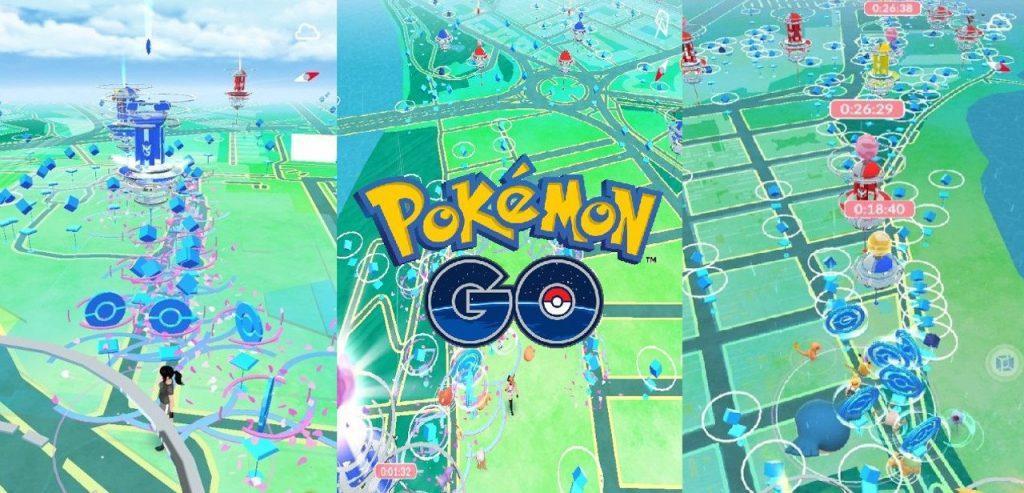 Pokemon Go PokeStop Reduce la distancia de interacción