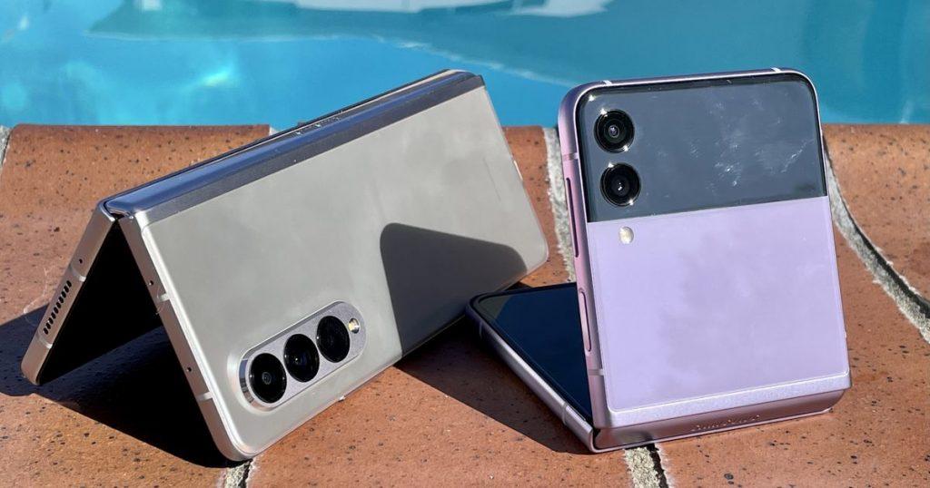 Prueba de agua Galaxy Z Fold 3, Z Flip 3: ¿a qué profundidad pueden llegar?
