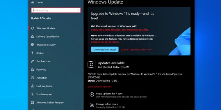 Windows 11 llega al canal Release Preview Insider a medida que se acerca el lanzamiento oficial