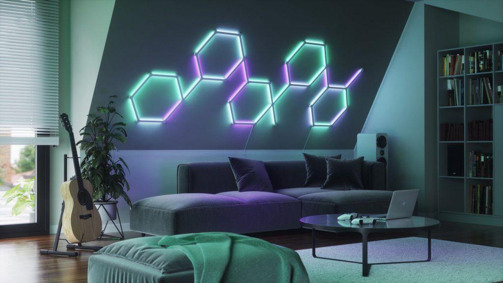 Nanoleaf lanza barras de luz LED a rayas